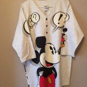 Mickey Mouse Mens Baseball shirt